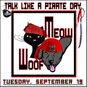 Talk Like a Pirate Day 2017