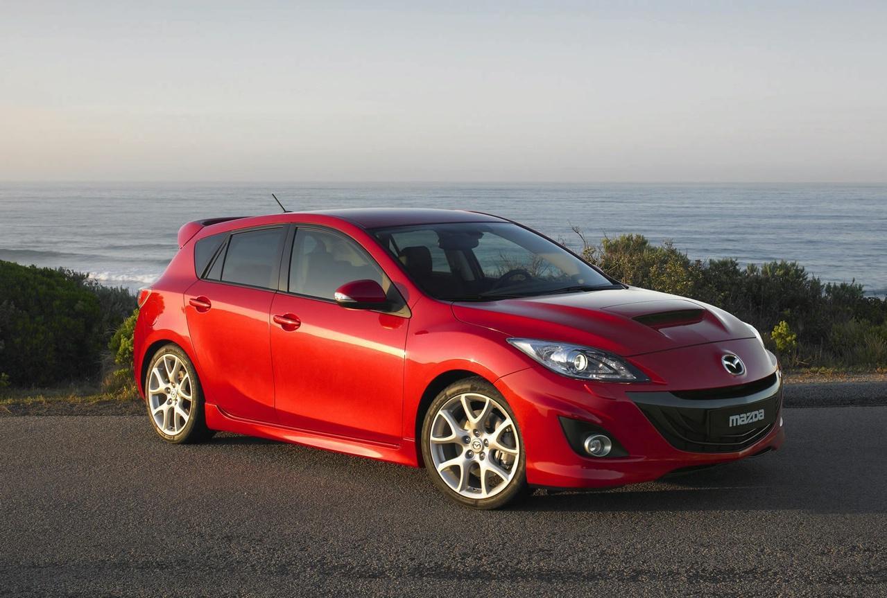 Mazda Releases: Mazda 3 MPS restyle