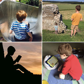 Photos of our autistic and neurotypical family from our favourite posts