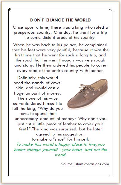 dongeng bahasa inggris tentang kehidupan