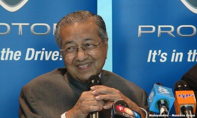 Tun Mahathir Letak Jawatan Pengerusi Proton