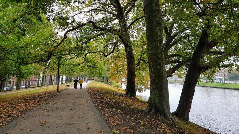 沿著運河的步道