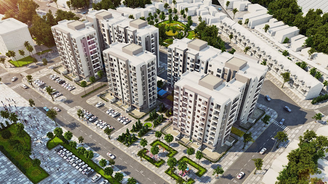 Phối cảnh chung cư Hometel Marina Hạ Long