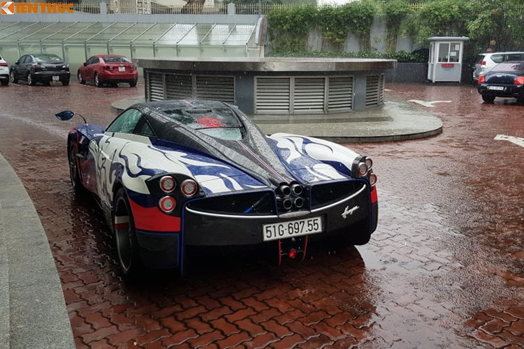 Minh Nhựa 'cưỡi' Pagani Huayra hơn 80 tỷ đi xem mắt Maserati