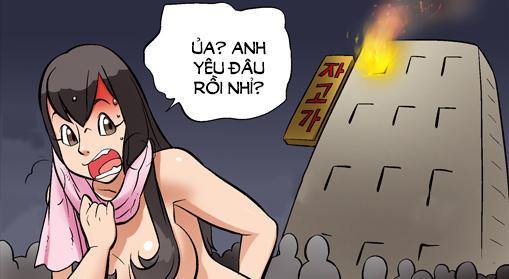 Kim Chi & Củ Cải (bộ mới) phần 905: Ngạt khói