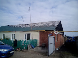 Пожар в с. Новопышминское