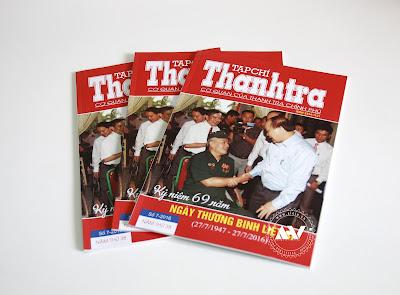In tạp chí - In tạp chí Thanh tra
