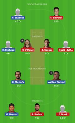 UAE vs NED dream 11 team | NED vs UAE