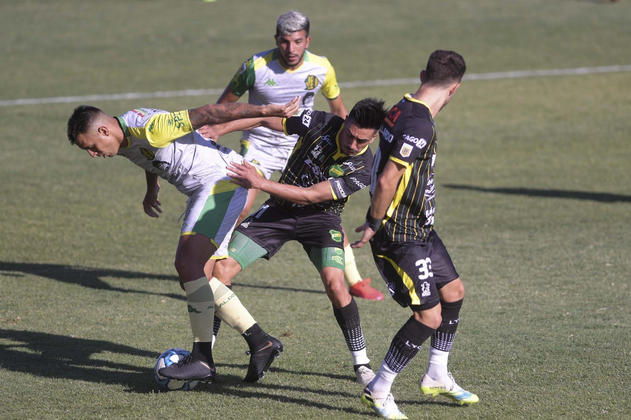 Defensa y Justicia empató con Aldosivi por 4 a 4 y dejó a Rosario Central en la final de Complementación