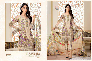 Shree fab Ramsha vol 2 Pakistani Suits wholesale Price