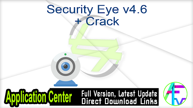 Security Eye v4.6 + Crack