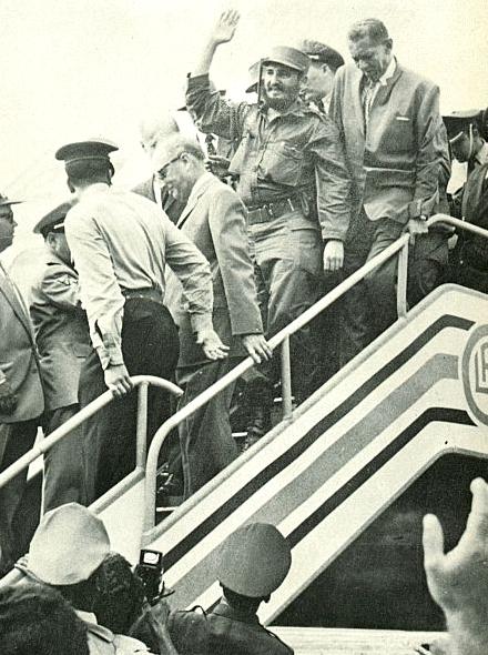 Fidel Castro Caracas 1959