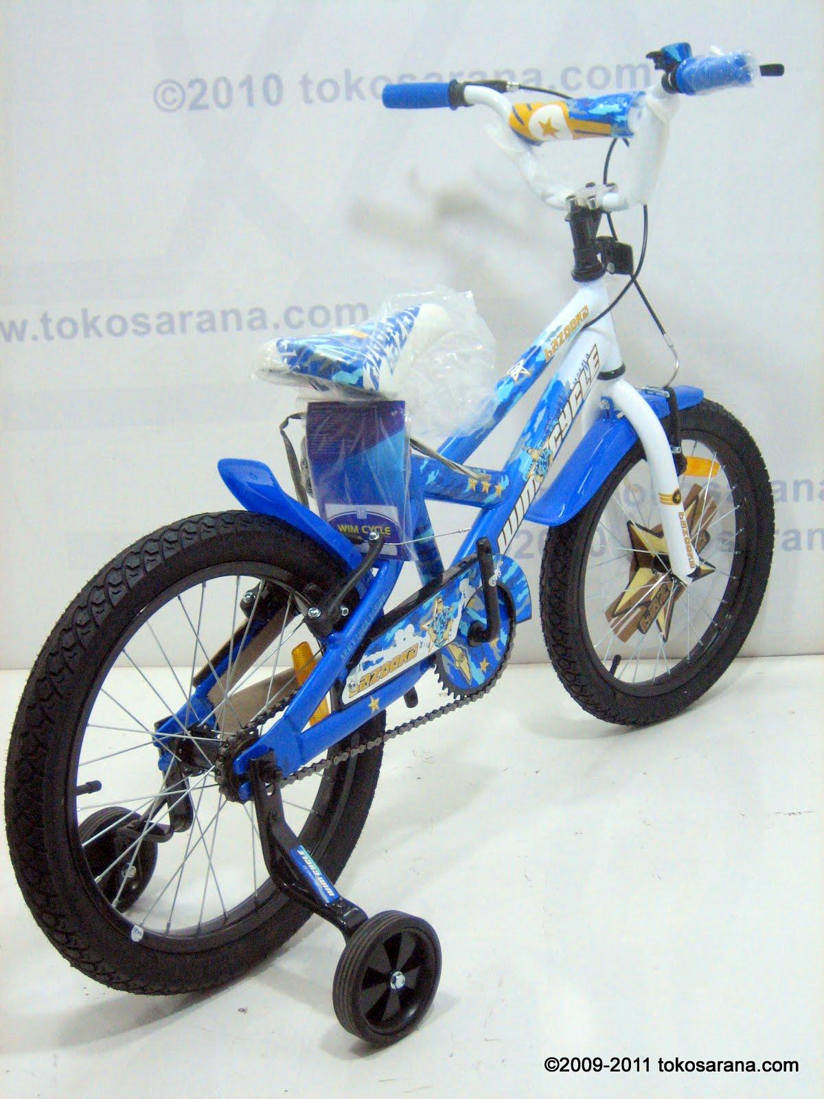 tokosarana  Mahasarana Sukses Sepeda Anak Wimcycle