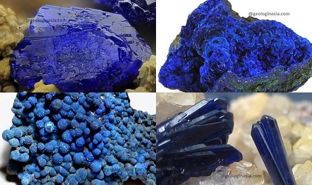 mineral azurit