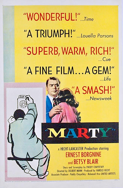 Marty 1955 movie poster