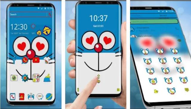 Doraemon merupakan salah satu karakter film kartun yang sangat legendaris 10 Aplikasi Tema Doraemon yang Paling Lucu