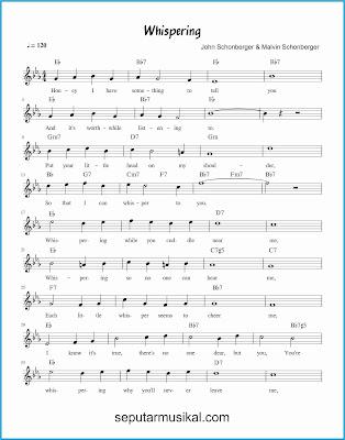whispering 1 lagu jazz standar