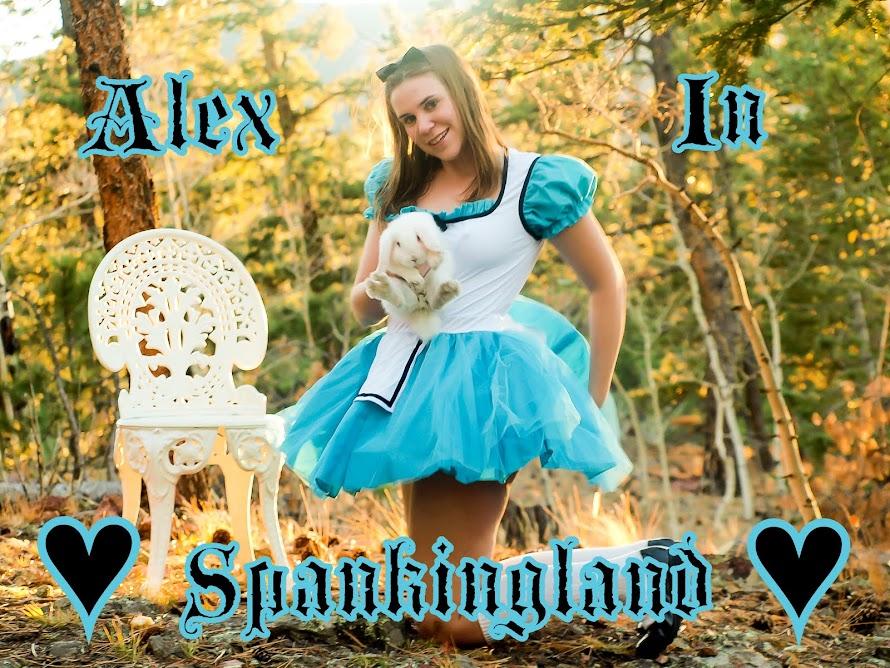 Alex in Spankingland