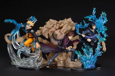 Gaara, Sasuke y Naruto impresionantes en las nuevas Figuarts ZERO de Tamashii Nations