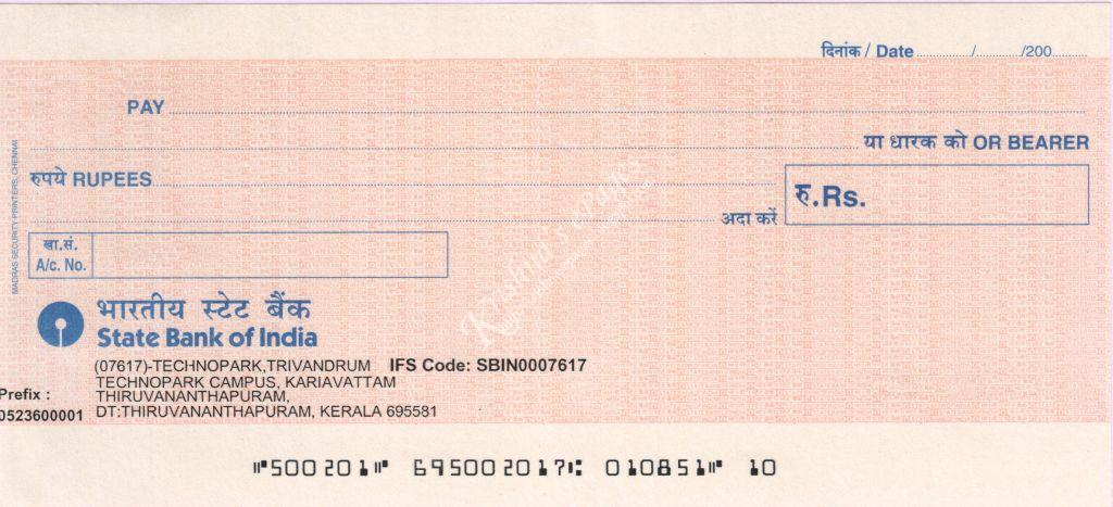 Krishna's ePages: CTS-2010 Standard and Old Bank Cheques ...