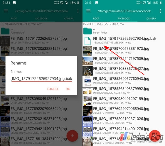 Cara Menyembunyikan File di Android Tanpa Aplikasi Tambahan