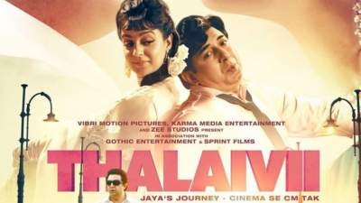 Thalaivi 2021 Hindi Tamil Full Movies Proper HQ PreDVD 480p x264