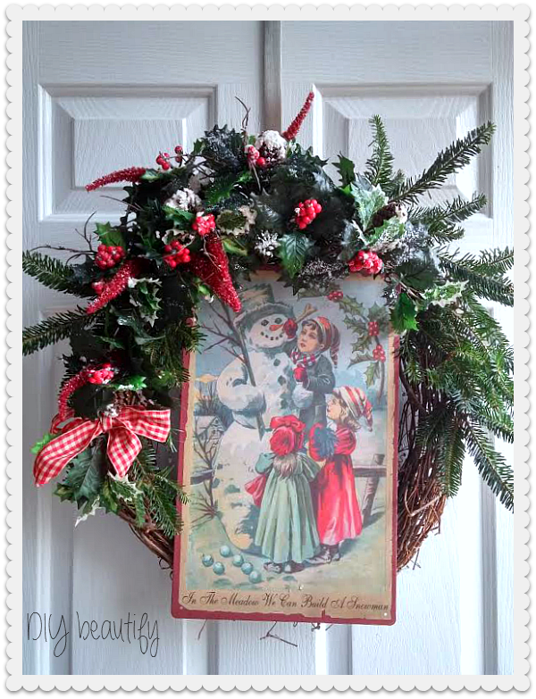 Holiday Home Tour DIY beautify blog