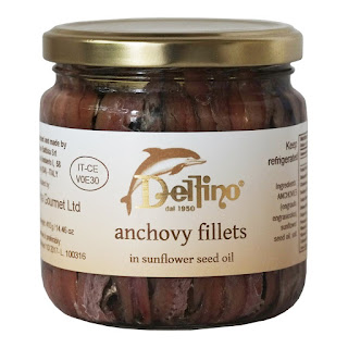 Delfino Anchovy fillets from Amalfi Coast