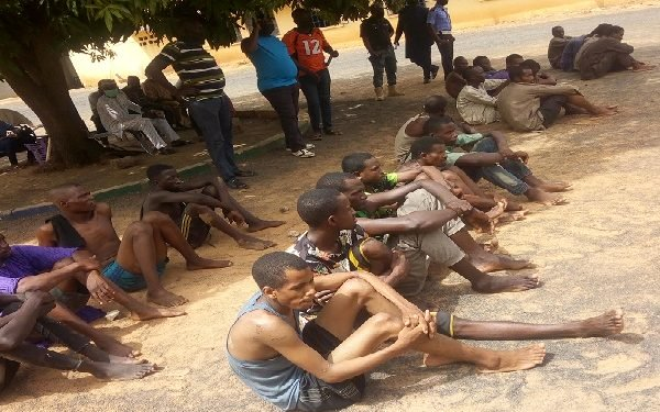 "Police Arrest ""23 kidnap"" suspects for allegedly terrorising three Adamawa LGAs"