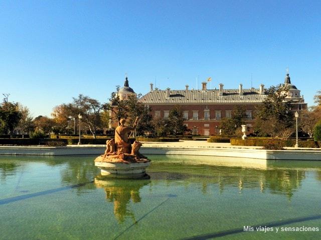 Fuente de Ceres, Palacio Real de Aranjuez
