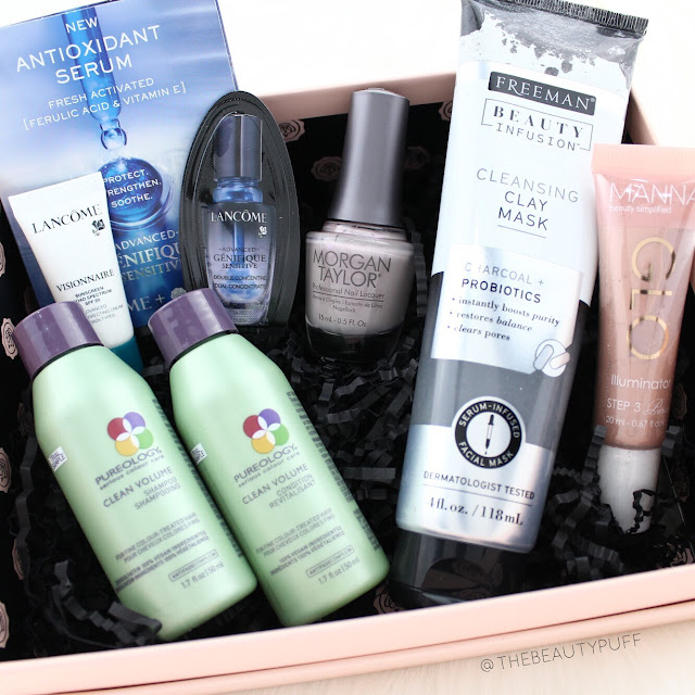 Glossybox September 2017     The Beauty Puff