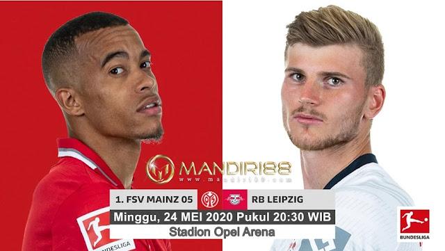 Prediksi FSV Mainz 05 Vs RB Leipzig, Minggu 24 Mei 2020 Pukul 20.30 WIB @ Mola TV
