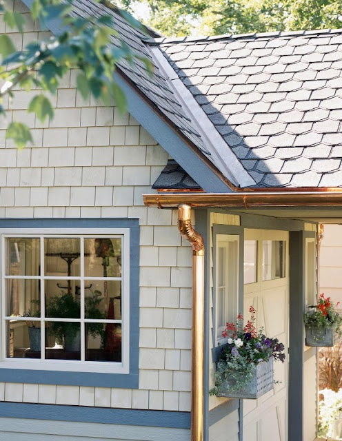 Replace Gutters and Downspouts