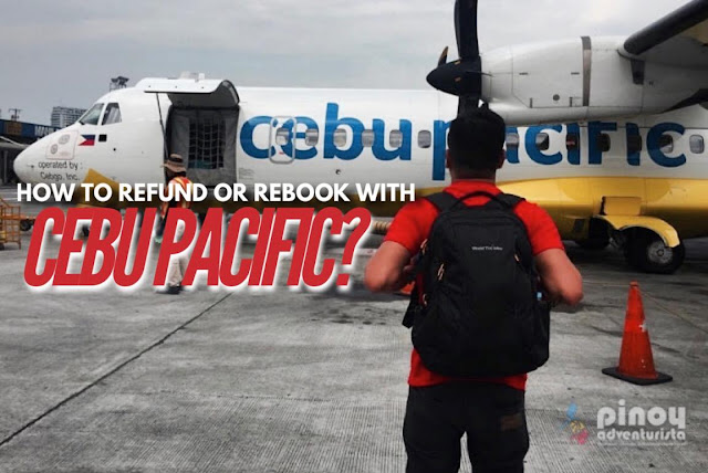 How to refund my booking with cebu pacific air