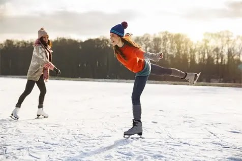 Skating is a great workout