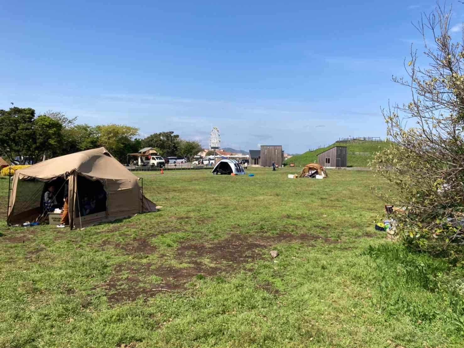 ソレイユの丘「テントサイト」