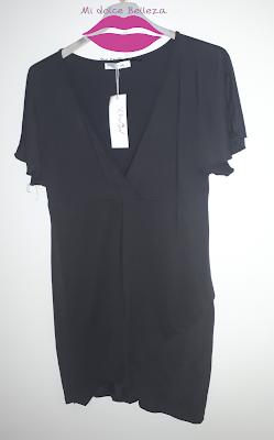 vestido negro rosegal