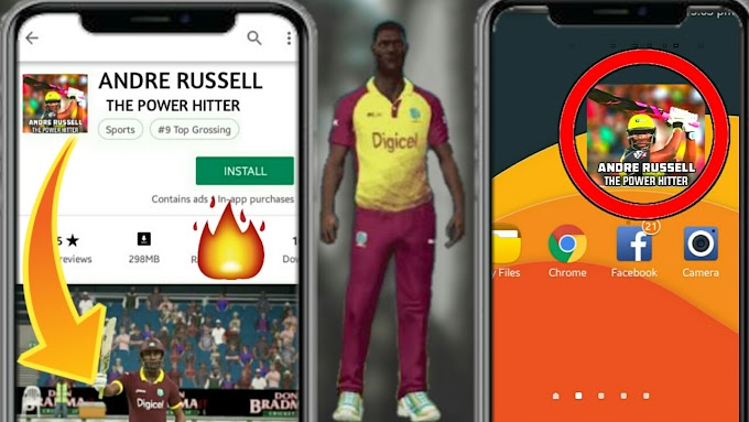 How to download Andrew Russell The Power Hitter Game on android
