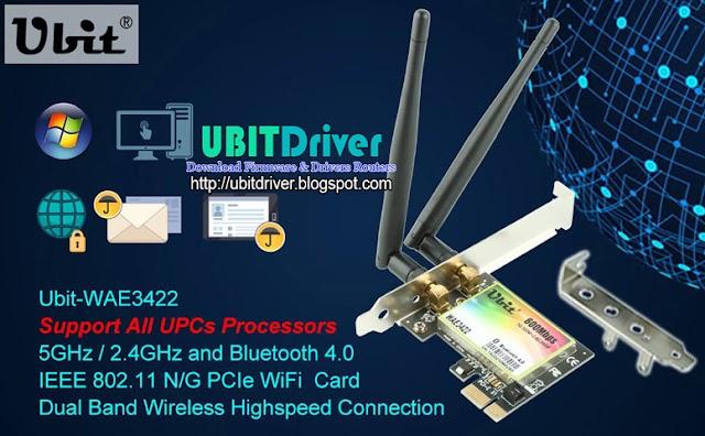 Ubit Driver WAE3422 PCI-E 600Mbps WiFi Card