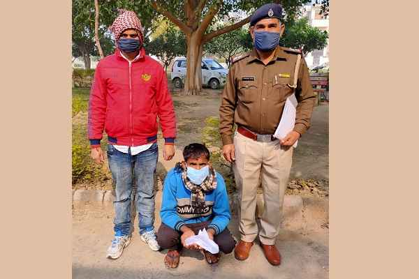 crime-branch-central-faridabad-arrested-accused-with-illegal-weapons