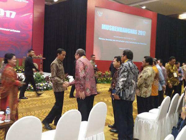 Musrenbangnas 2017 di Hotel Bidakara Jakarta