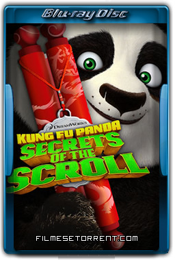 Kung Fu Panda Segredos do Pergaminho Torrent 2016 720p 1080p BluRay Dublado