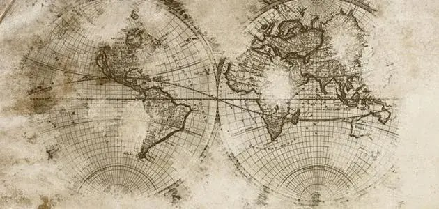 The first to draw a map of the world, History of cartography
