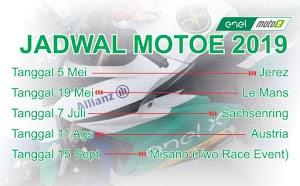 Jadwal Balap MotoE 2019
