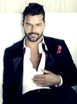 Foto de Ricky Martin más adulto