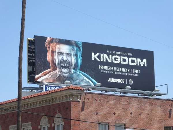 Frank Grillo Kingdom season 3 billboard