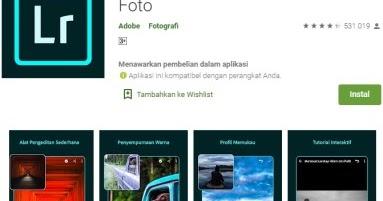 Cara Edit Foto Adobe Photoshop Lightroom dengan Mudah ...