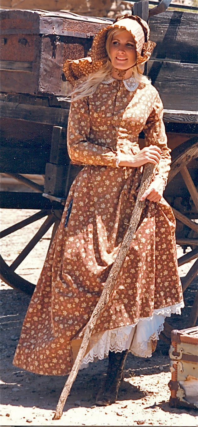 WayWeWore Vintage: 1800's Prairie Dress