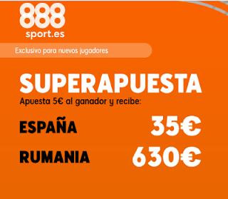 888sport superapuesta España vs Rumania 18-11-2019