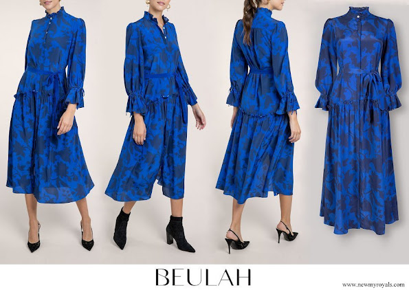 Zara Tindall wore Beulah London Darsha Shirt Dress